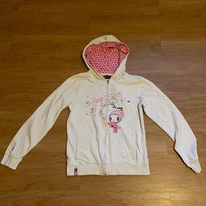 TOKIDOKI Ladies hoodie fits like small
